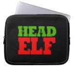 HEAD ELF LAPTOP COMPUTER SLEEVE