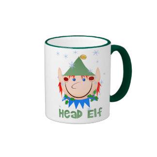 Head Elf Mugs