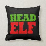 HEAD ELF PILLOW