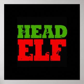 HEAD ELF POSTER