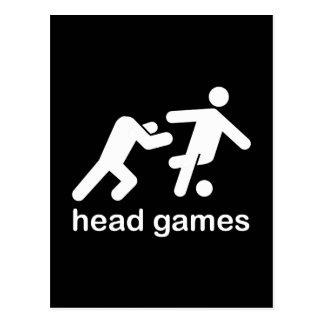 head games foreigner headgames funny tshirt postcard