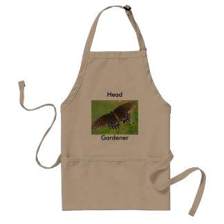 Head, Gardener Adult Apron
