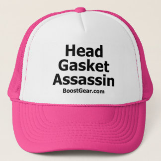 Head Gasket Assassin Trucker Hat by BoostGear.com