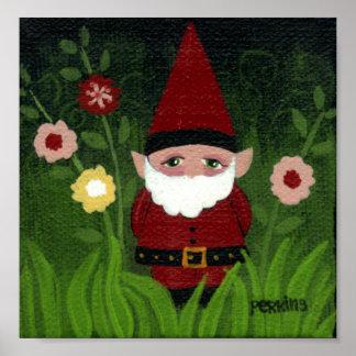 Head Gnome Poster