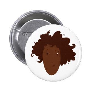 Head Hair Button