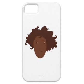 Head Hair iPhone 5/5S Cases