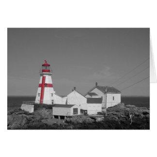Head Harbour Lighthouse Card