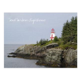 Head Harbour Lighthouse Postcard