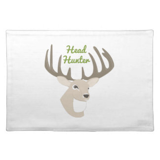 Head Hunter Cloth Placemat
