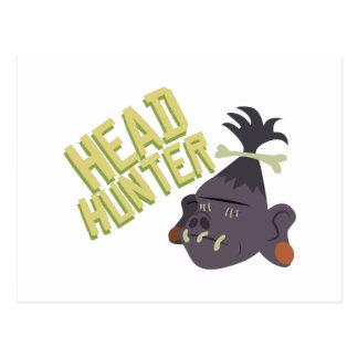 Head Hunter Postcard