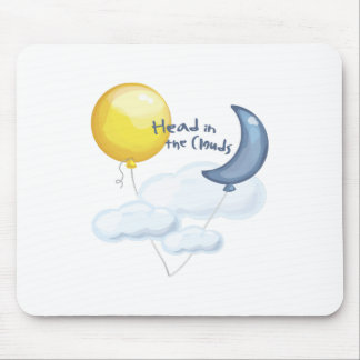 Head In Clouds Mouse Pad