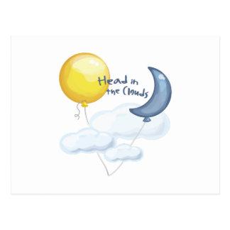 Head In Clouds Postcard