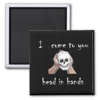 Head in hands Magnet