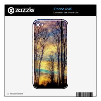 Head in the Clouds iPhone 4S Skin