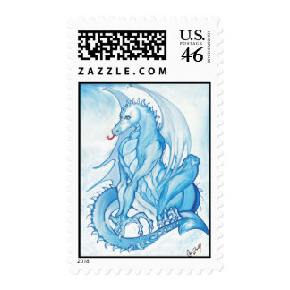 Head in the Clouds Postage Stamp