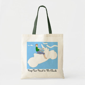 Head in the Clouds - Tote Canvas Bags