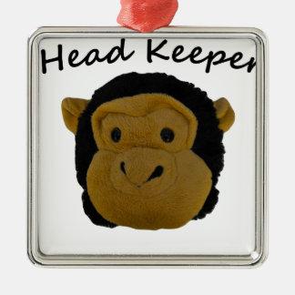 Head Keeper Metal Ornament