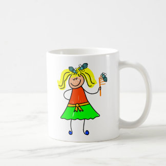Head Lice Kid Coffee Mug