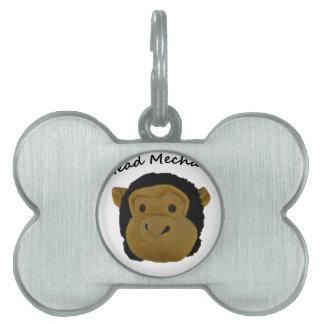 Head Mehanic Pet ID Tag