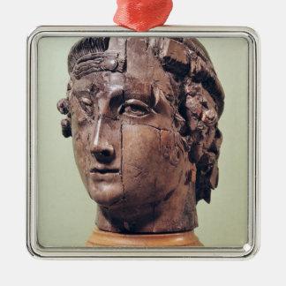 Head Metal Ornament