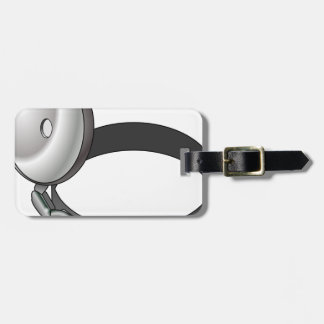 Head Mirror Luggage Tag