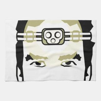 head-mounted flashlight hand towel