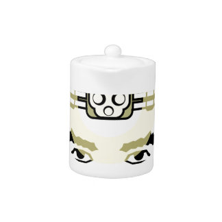 head-mounted flashlight teapot