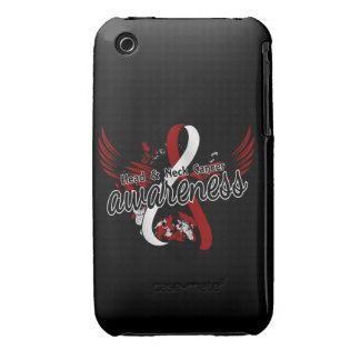 Head Neck Cancer Awareness 16 iPhone 3 Cover