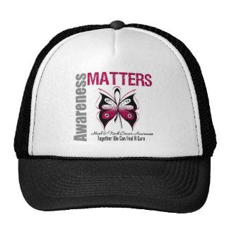 Head Neck Cancer Awareness Matters Trucker Hat