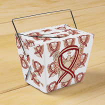 Head & Neck Cancer Awareness Ribbon Favor Boxes