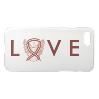 Head & Neck Cancer Awareness Ribbon iPhone 7 Case