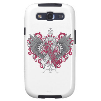 Head Neck Cancer Cool Wings Samsung Galaxy SIII Covers