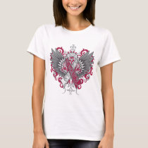 Head Neck Cancer Cool Wings T-Shirt