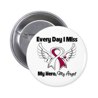 Head Neck Cancer Every Day I Miss My Hero Buttons