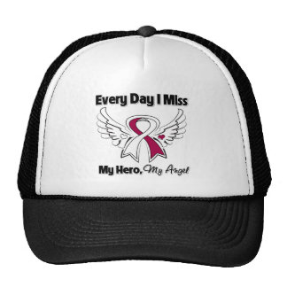 Head Neck Cancer Every Day I Miss My Hero Mesh Hats