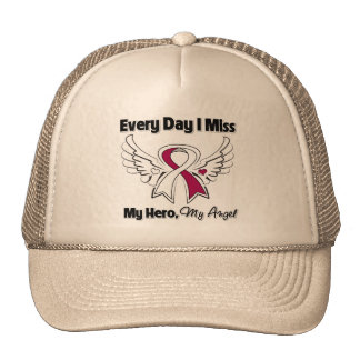 Head Neck Cancer Every Day I Miss My Hero Hat