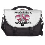 Head Neck Cancer Fight Like a Warrior Bags For Laptop