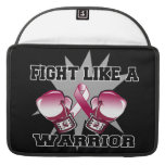 Head Neck Cancer Fight Like a Warrior Sleeves For MacBooks