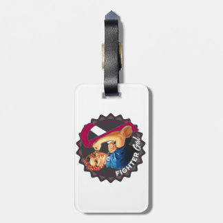 Head Neck Cancer Fighter Gal Tags For Bags