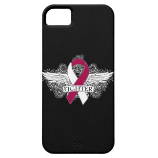 Head Neck Cancer Fighter Wings iPhone 5 Cases