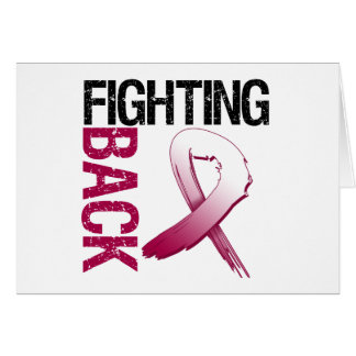 Head Neck Cancer Fighting Back Greeting Card