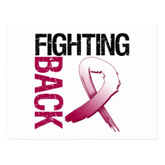 Head Neck Cancer Fighting Back Postcards