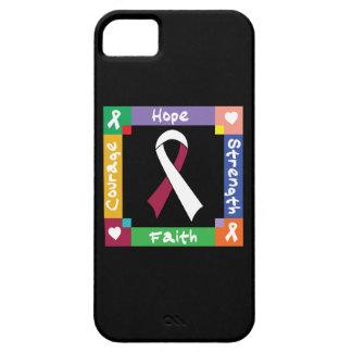 Head Neck Cancer Hope Strength Faith iPhone 5 Case