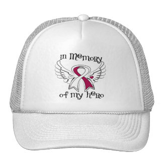 Head Neck Cancer In Memory of My Hero Hats