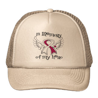 Head Neck Cancer In Memory of My Hero Mesh Hats