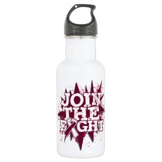 Head Neck Cancer Join The Fight 18oz Water Bottle
