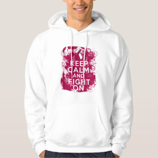 Head Neck Cancer Keep Calm and Fight On Pullover