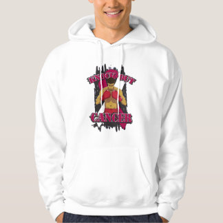 Head Neck Cancer Knock Out Cancer Hooded Pullover