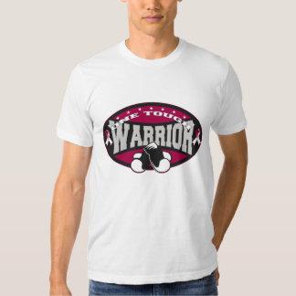 Head Neck Cancer One Tough Warrior Tee Shirt