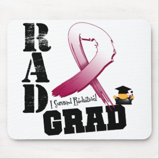 Head Neck Cancer Radiation Therapy RAD Grad Mouse Mat